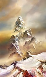 Above the World II by Philip Gray -  sized 24x40 inches. Available from Whitewall Galleries